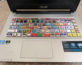 Pokemon keyboard decal (for Asus)