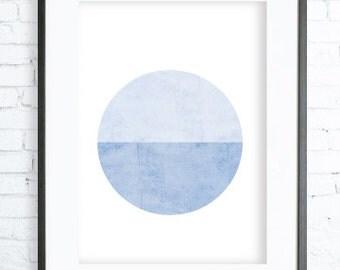 Prints, Digital Print, Poster, Wall Prints, Geometric Art,  Print Art, Modern Art, Blue Art Print , Geometric Print, Wall decor, Best Seller