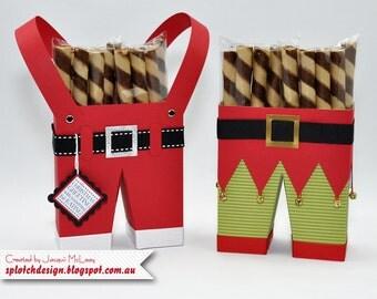 Santa & Elf Pants Digital Tutorial
