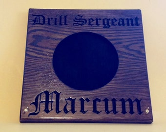 Drill Sergeant Hat Press