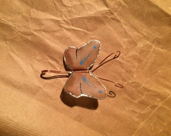 Wide Winged Butterfly - Wirebug