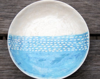 Two Ceramic Bowls-Pottery Bowls -Ceramics And Pottery-Cereal Bowls