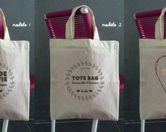 bag cotton Bridesmaid (11 models to choose)