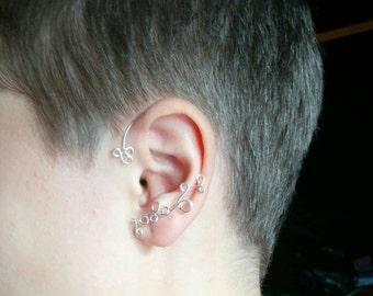 Sterling Silver Ear Wrap