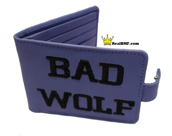Doctor Who Inspired Bad Wolf Wallet