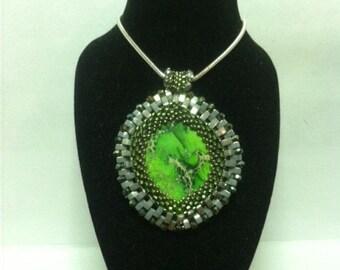 Green Jasper Necklace