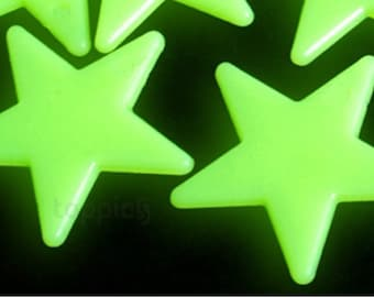 30 x Glow in the Dark Stars Ceiling Kit - With Self Adhesive Backing - Free Postage in Australia