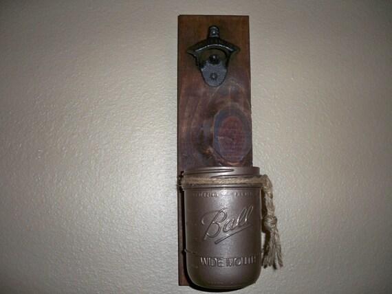 groomsmen gift beer bottle opener cap catcher by lisamarieds. Black Bedroom Furniture Sets. Home Design Ideas