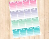 Pastel To Do Weekly Box List-16 count
