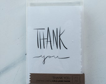 Thank You cards • set of five (MC038103)