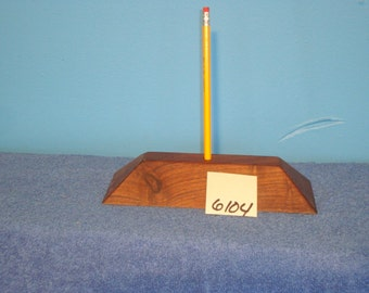 Black Walnut Desk Pencil Holder