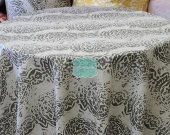 Tablecloth - Premier Prints Cotton - MANCHESTER - Cave Linen - Choose Your Size - Table Linen Wedding Home Decor Dining Kitchen
