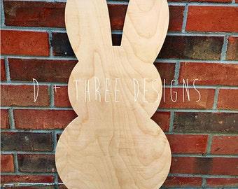Wooden Bunnies, Wooden Rabbits, Easter Bunny, Wooden Easter Bunny, Easter Decor
