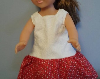 American Girl or other 18 inch doll dress.