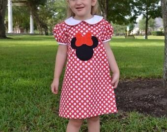 SALE Mouse Aline Dress