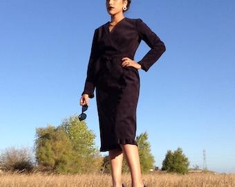 Vintage Abe Schrader Black Dress