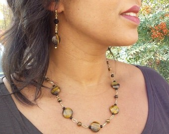 Tiger Eye necklace IV