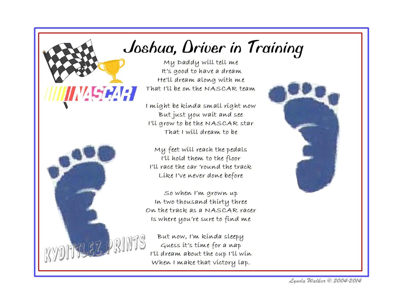Baby Footsteps Poem be © Poem Baby Footprints