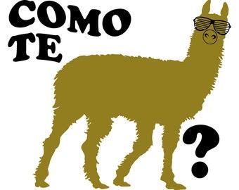 Como Te Llama Cute Shirt