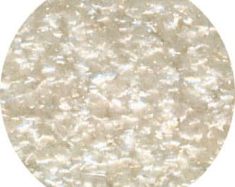 White Edible Glitter 1/4 Ounce
