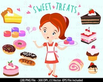 Sweet shop clip art – Etsy