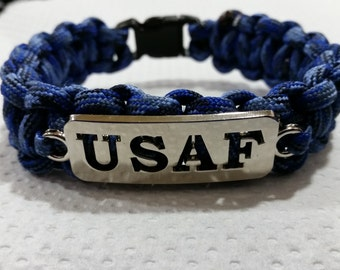 USAF/Air Force Paracord Bracelet