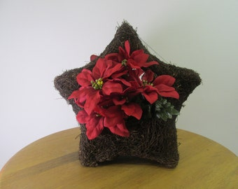 Rattan Holiday Star Planter, SP-series
