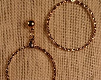 Earrings- Gold Loops