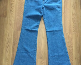 Vintage Tommy Hilfiger bell bottom denim pants