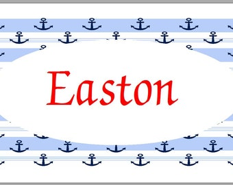 Enclosure Cards - Set of 20 - Nautical