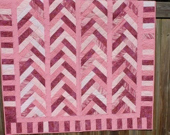 Cotton quilt hand made never used made 2014