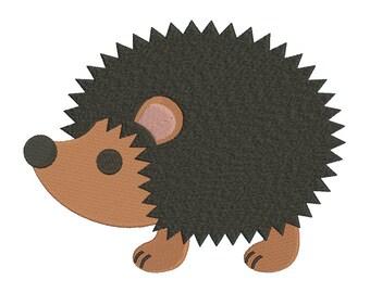 SALE!! Hedgehog Machine Embroidery Design 5 Size - INSTANT DOWNLOAD