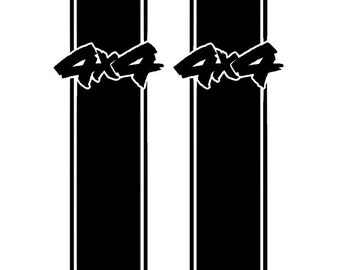Custom 4x4 Truck Stripes