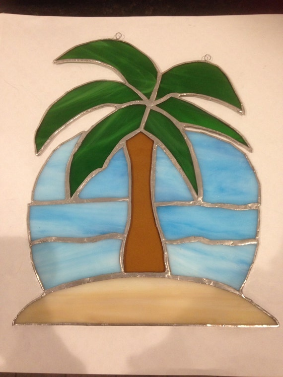 Palm Tree Suncatcher