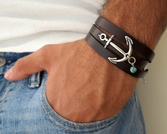 men 39 s bracelet men 39 s anchor bracelet men 39 s. Black Bedroom Furniture Sets. Home Design Ideas