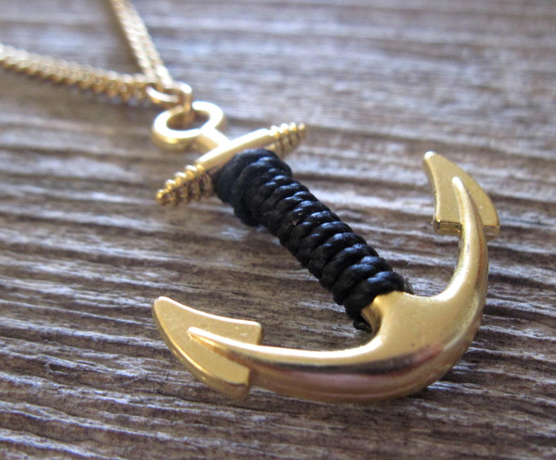 men necklace men anchor necklace men gold necklace men. Black Bedroom Furniture Sets. Home Design Ideas
