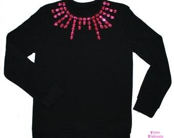 Pink Sparkles Sweater #Cono