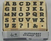 Mini Alphabet Stamps, Scrapbooking, Card Making, Crafts