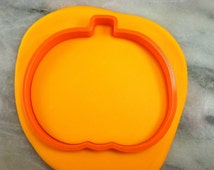 Pumpkin Cookie Cutter - CHOOSE Your OWN SIZE - Fast Shipping!