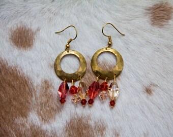 Crystal Bangle Earrings