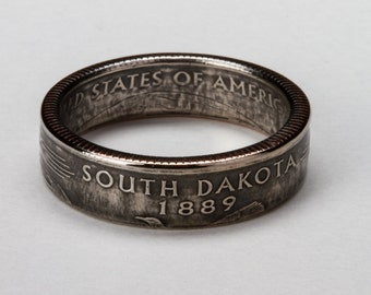 South Dakota State Quarter Ring