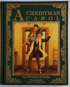 1987 A Christmas Carol by: Charles Dickens Illustrated by Walt Sturrock Hard cover Childrens ...