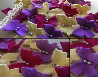 18 Edible sugar butterflies decorations  for cake cupcake toppers