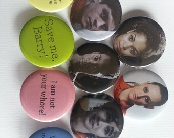 Misfits Pinback Buttons