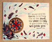 Disney Pocahontas - Grandmother Will Quote Painting