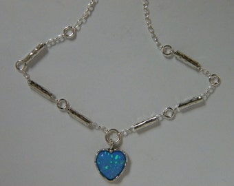 shablool sterling silver 925 Necklace Pendant with opal Stone  n2729 from isreal