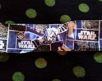 star wars glow in the dark headband tie