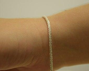 Silver Margherita Bracelet | Sterling Silver Bracelet