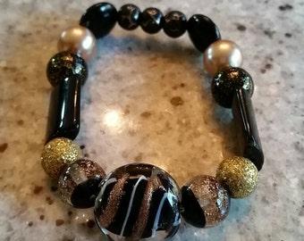 Golden Black Bracelet