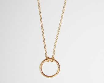 Geometrical 18k  Gold Plated Necklace